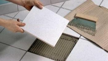 Как самостоятельно заменить треснувшую керамическую плитку