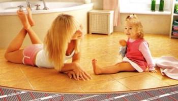 Плюсы использования системы обогрева теплый пол