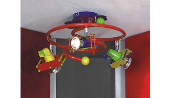 Детские люстры и светильники: способ подарить ребенку радость